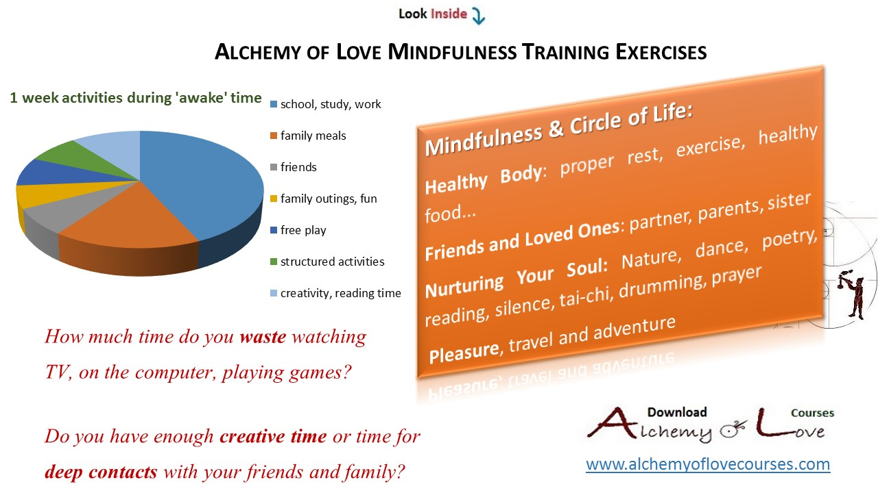 alchemy of love mindfulness training exercises circle of life