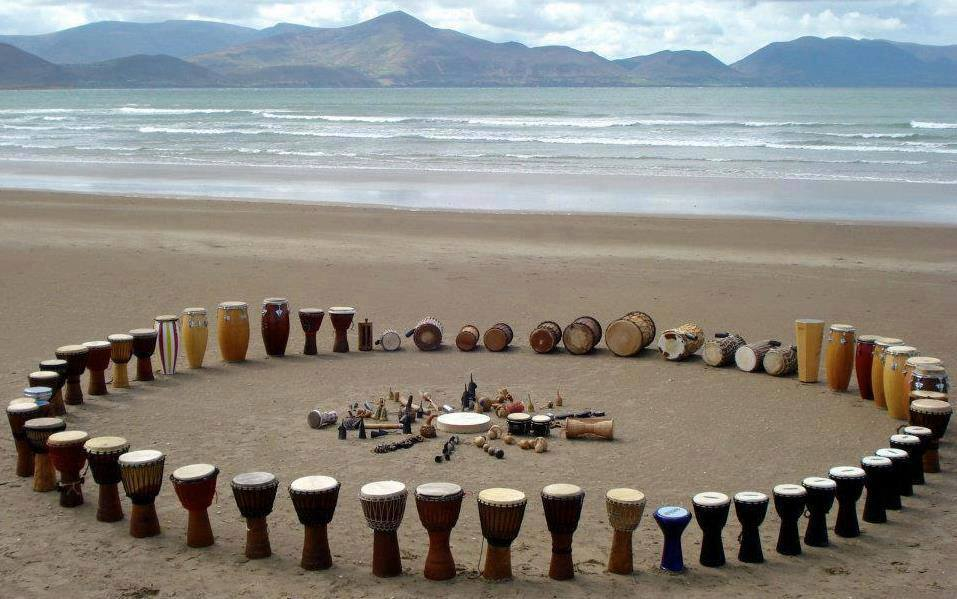 brain development tips cultivate creativity time in nature drumming circle