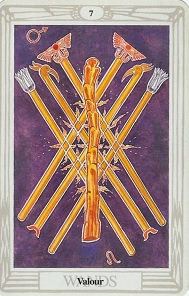 spiritual meaning of numbers tarot card seven