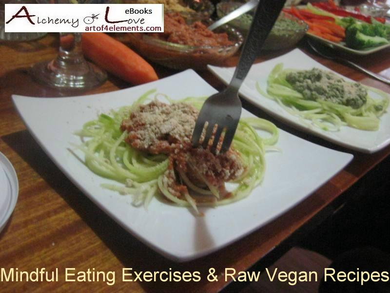 veggie spaghetti raw vegan recipes ebook