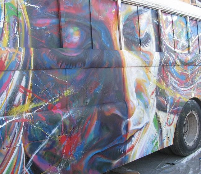 women sexual freedom face bus