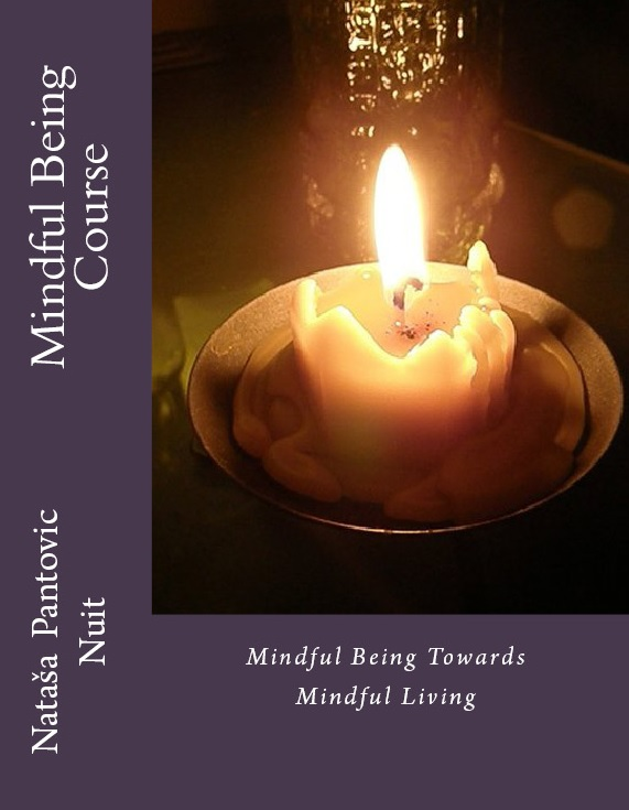 mindful being course title page book