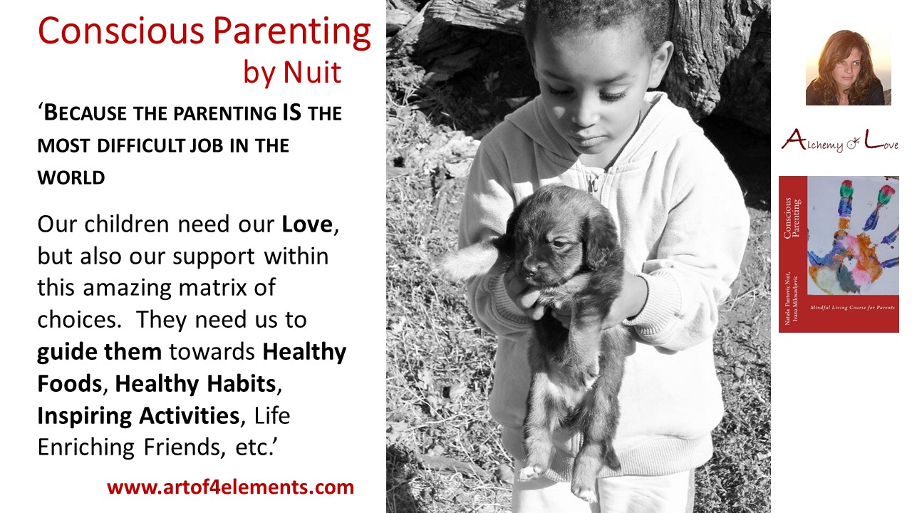 Conscious Parenting Quote about Kids Development