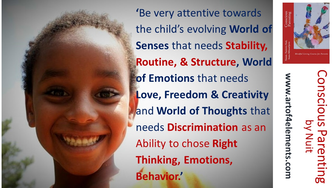 Why Conscious Parents, How to be more loving parent, Conscious Parenting by Nuit quote kids development body mind soul