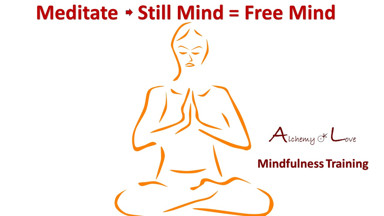meditate still mind is free mind