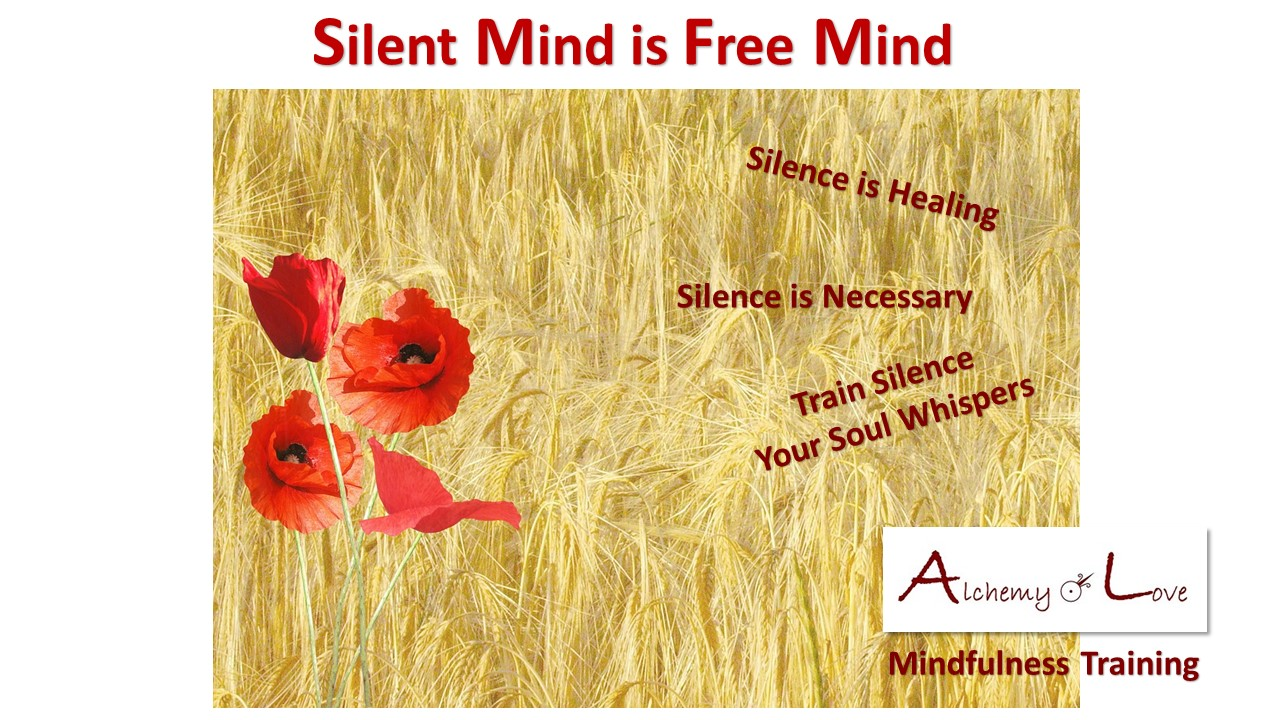 meditate silent mind is free mind