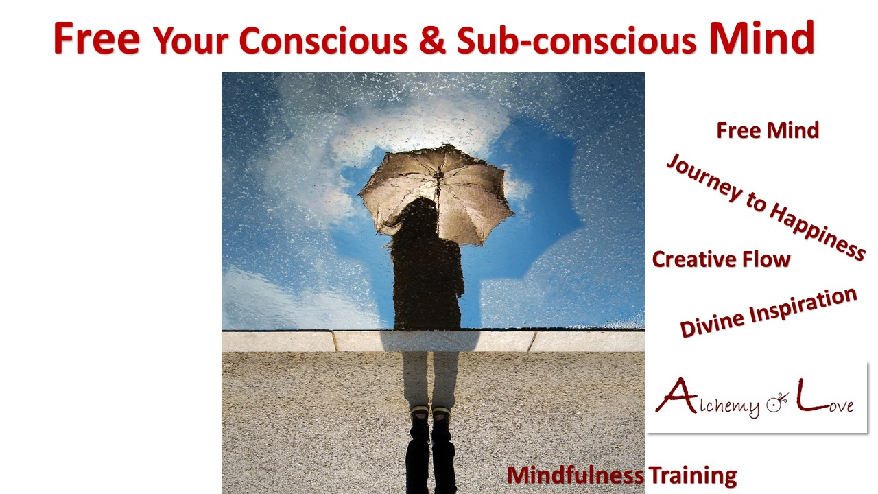 What is creativity free conscious and subconscious mind alchemy of love mindfulness training by Nuit