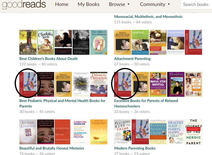 parenting lists goodreads best books with Conscious Parenting