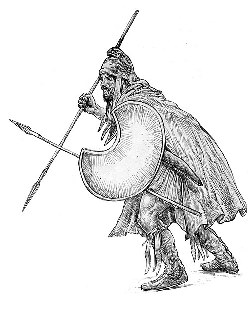 Image of Thracians Indo European tribe 5th century BC