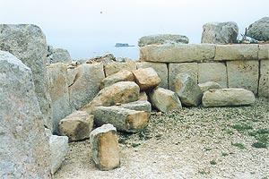 Mnajdra temple 3,000 BC vandalised Mystical teachings of Ancient temples