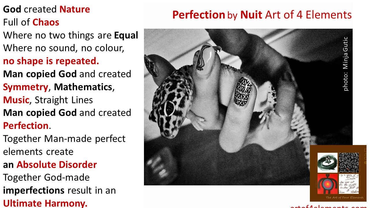 Perfection by Nuit Esoteric teachings of Golden Citizens of Ancient Greece