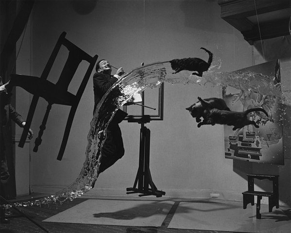 Dali Atomicus, photo by Philippe Halsman 1948
