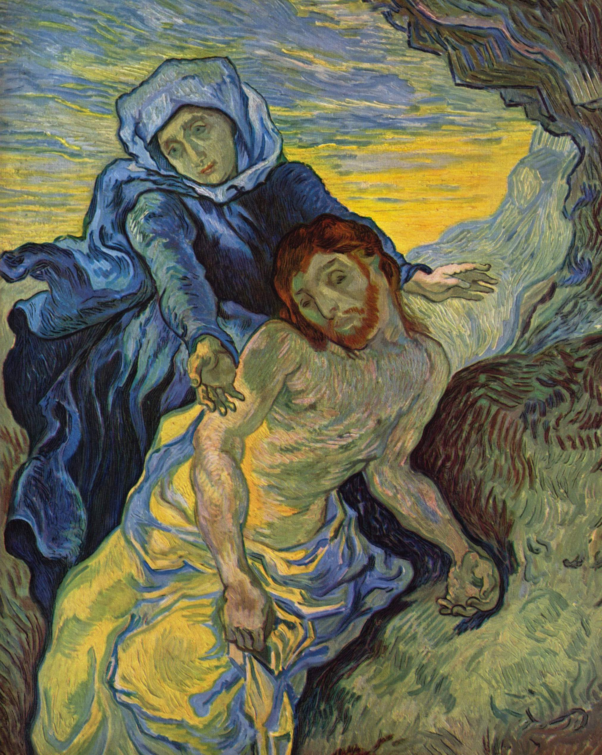 Vincent van Gogh - Pietà (after Delacroix)