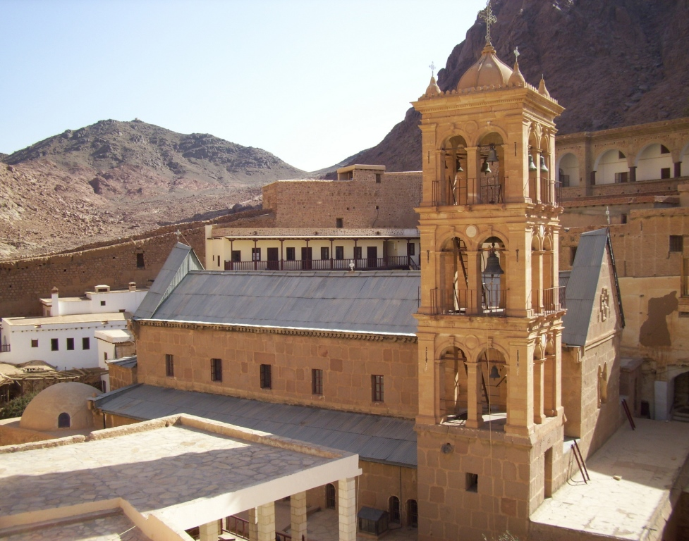 Main church of St. Catherine's Monastery of the Sinai (6th century)