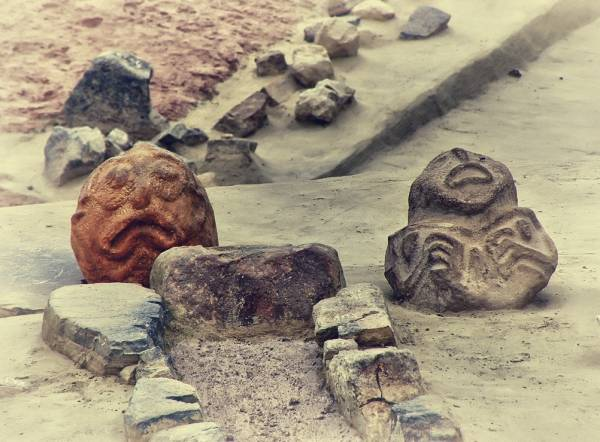 Vinca civilization 7000 BC archeological remains sculptures Danube Neolithics