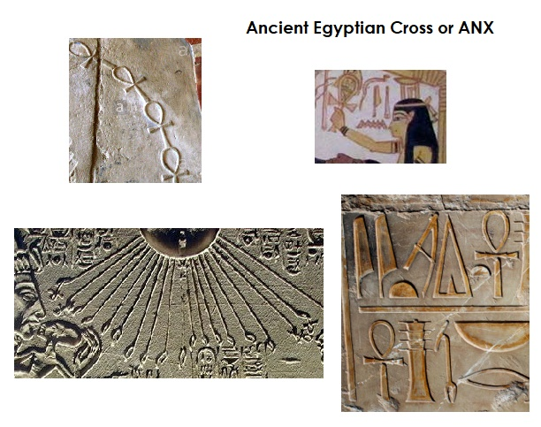 Ancient Egyptian Cross or Anc Anx Ank Ang