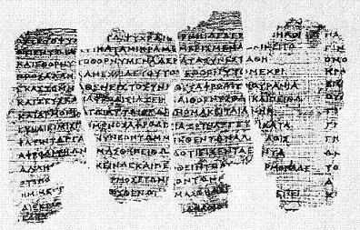 Derveni-papyrus oldest ancient greek BC