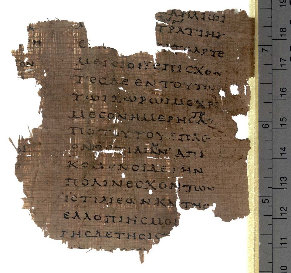 Fragment from the Herodotus Histories Papyrus 200 AC