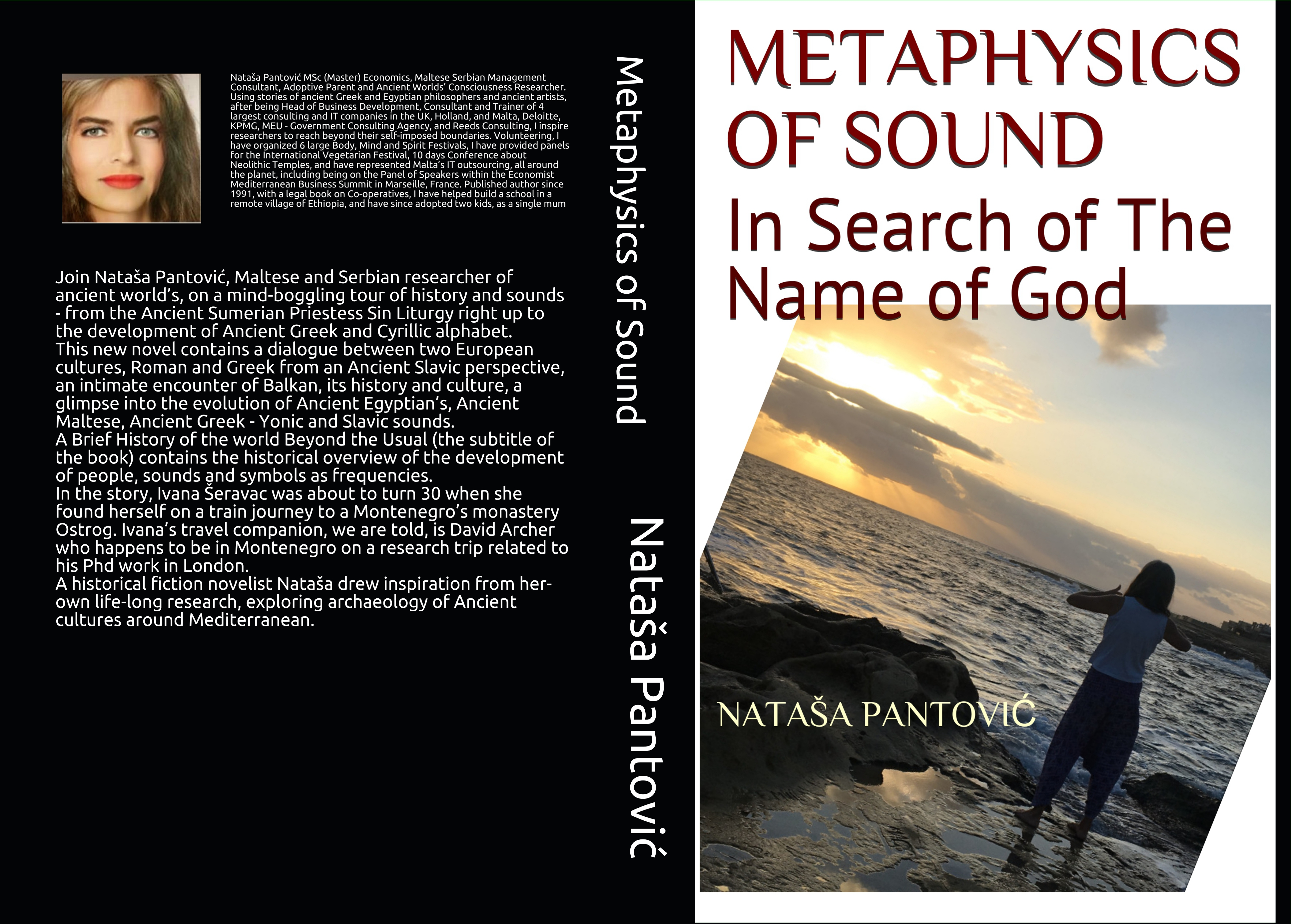 Metaphysics of Sound In Search of the Name of God or a Brief History of the World beyond the Usual by Nataša Pantović book cover