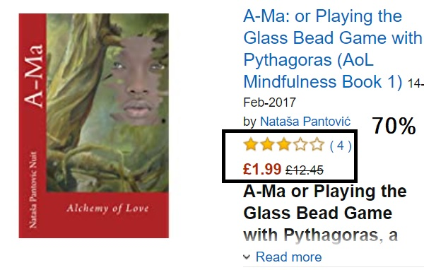 Ama Alchemy of Love or Playing the Glass Bead Game with Pythagoras by Natasa Pantovic Huge Discounts for Prime Day