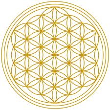 Mindful eating, improve quality of drinking water, flower of life symbol