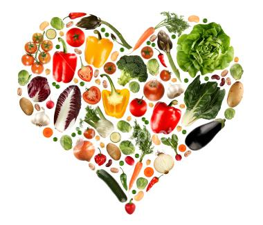 vegetarian benefits, Vegetarian in the World, fruits veggies heart