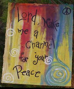 mindful being course: lord make me a channel for your peace