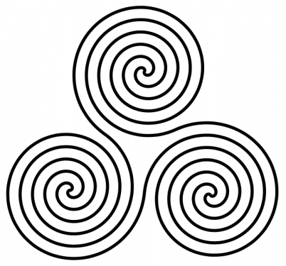 Spiral Of Life Symbols For Trinity Around The World