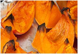 Food for Health: easy healthy recipes roast pumpkin