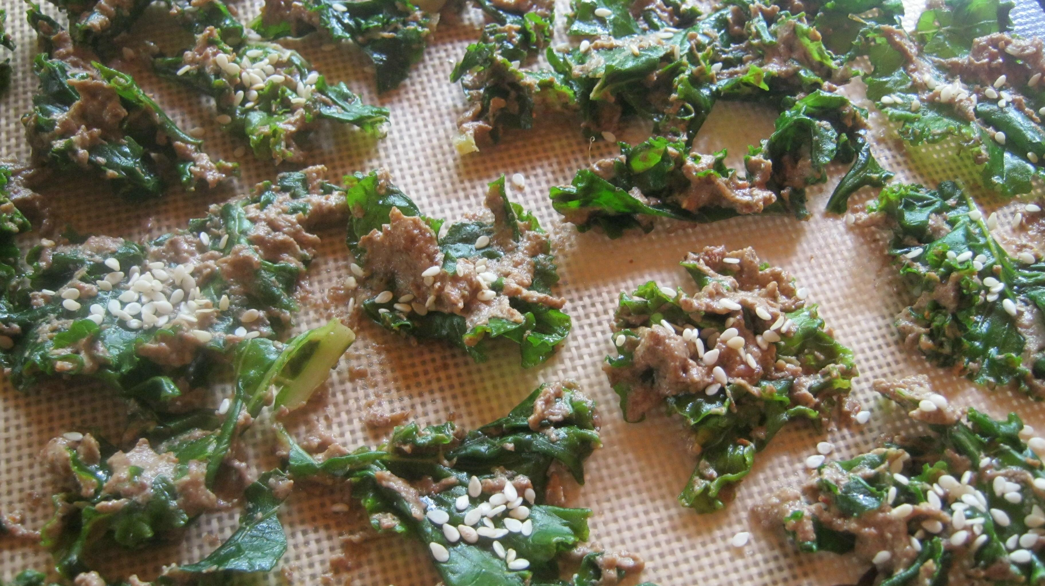 raw recipes kale chips