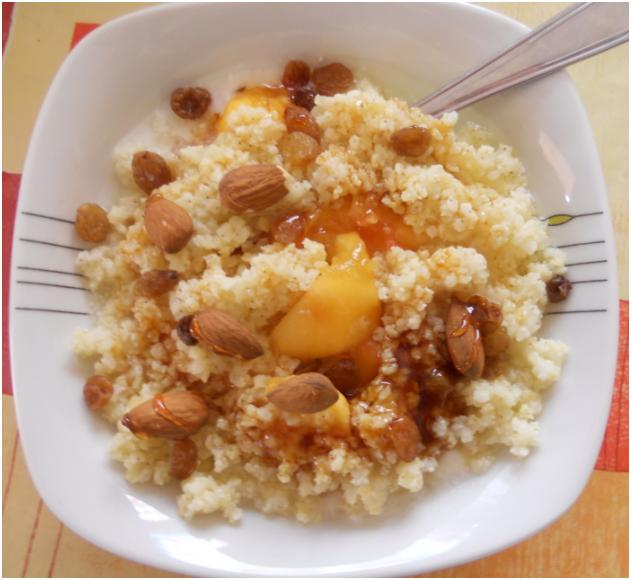 mindful eating recipes Vegetarian Breakfast Millet Porridge