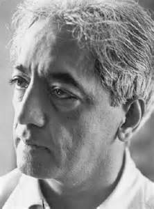 krishnamurti spiritual quotes about meditation