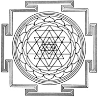 meditation symbols meaning sri yantra
