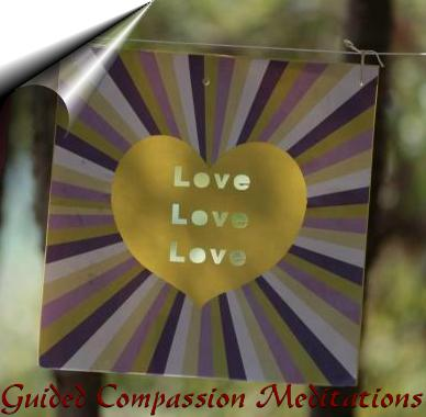 online guided compassion and love meditations