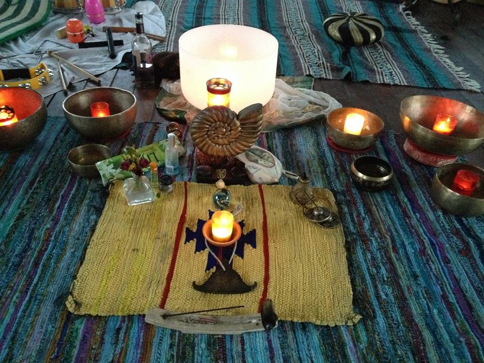 4 four elements wedding ritual use candles