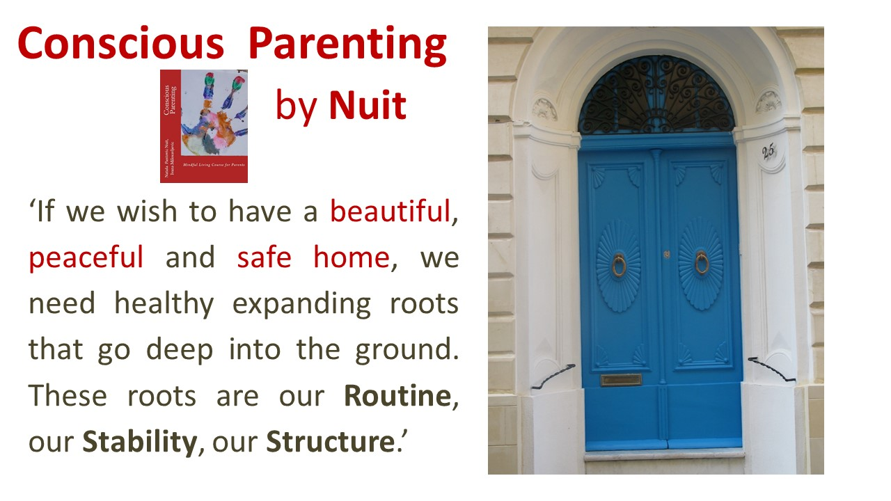 Conscious Parenting by Natasa Pantovic Nuit quote on kids development children happy home