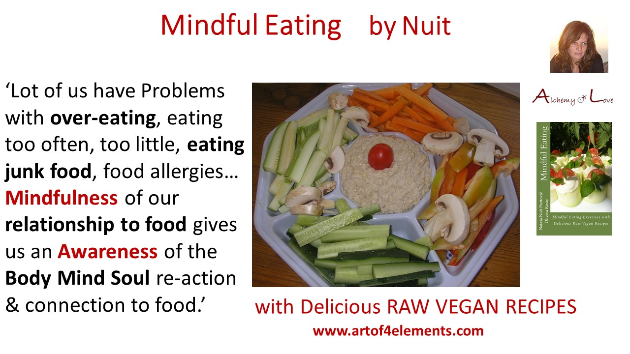 Mindful Eating by Nuit Quotes about Mindfulness and Overeating
