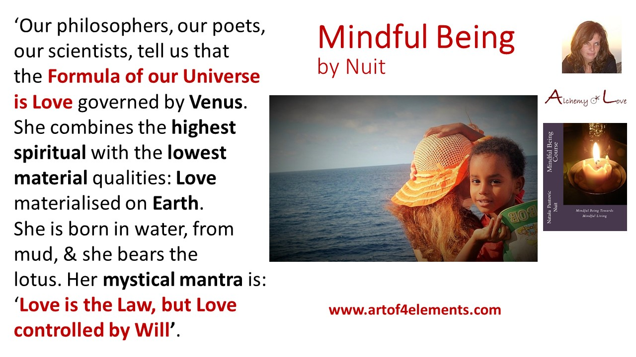 what is unconditional love quote from mindful being by Natasa Pantovic Nuit