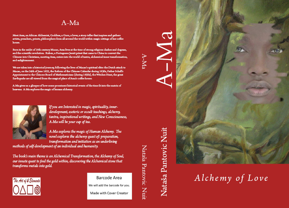 Ama Alchemy of Love book cover