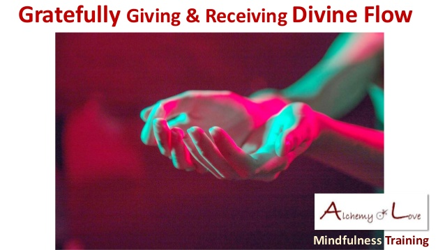 Article Humanity divine potential is peace Gratefully giving or receiving divine flow