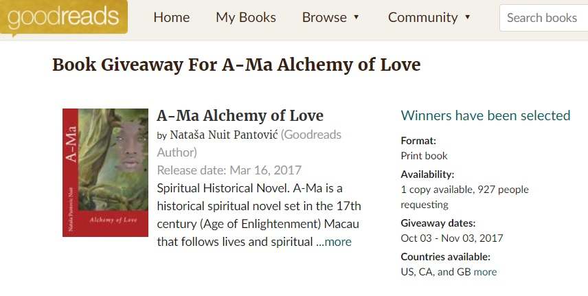 Amazing 927 spiritual researchers requested our signed free copy of Ama