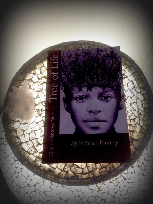 Tree of Life with Spiritual Poetry Novel by Natasa Pantovic Nuit