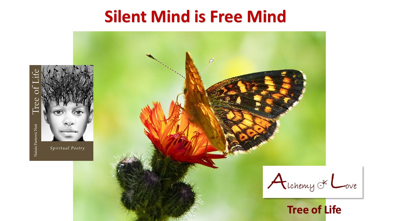 silent mind is free mind from Tree of Life by Natasa Nuit Pantovic