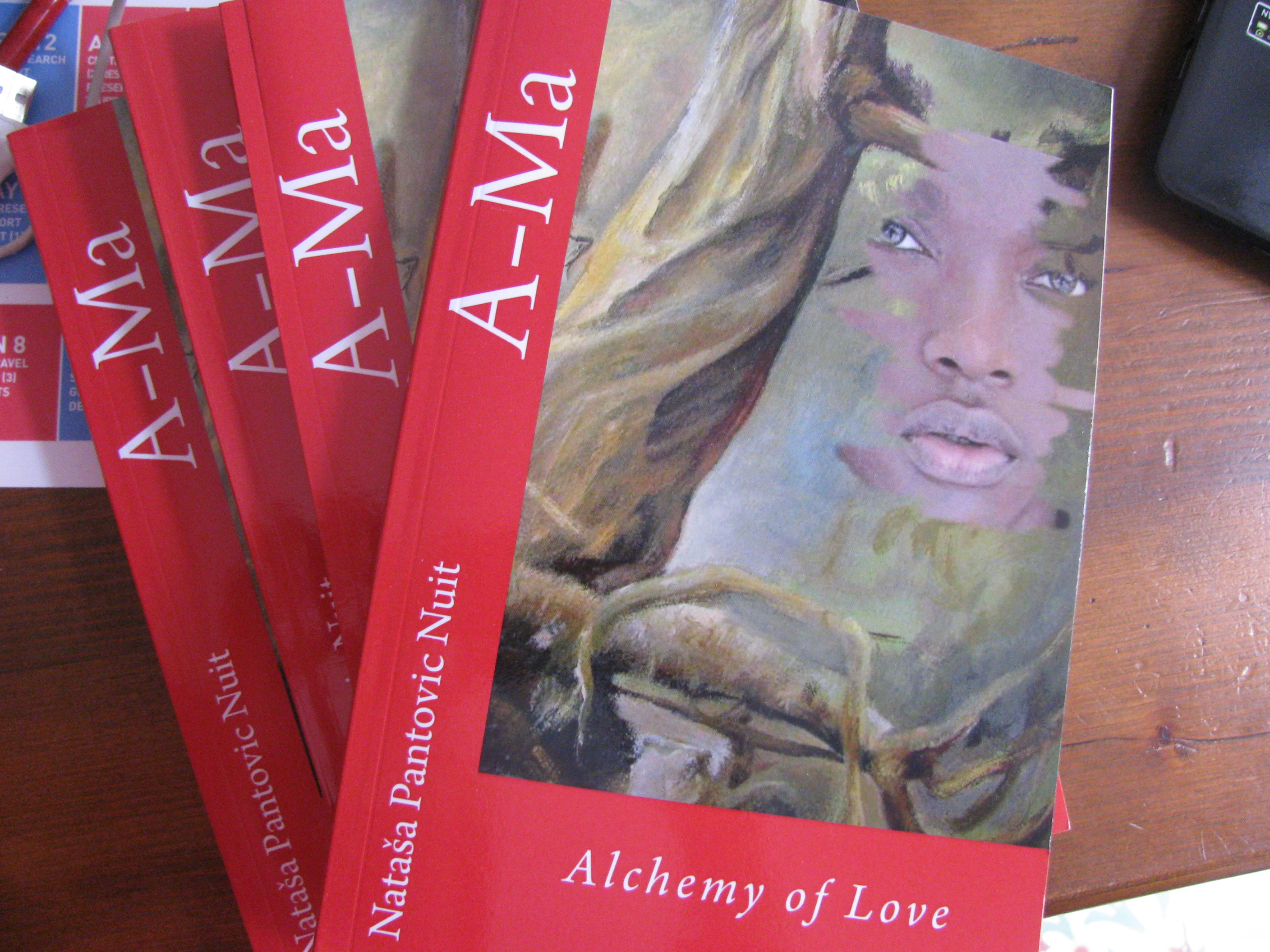 A-Ma Alchemy of Love Historical Spiritual Fiction set in Ancient China by Natasa Pantovic Nuit