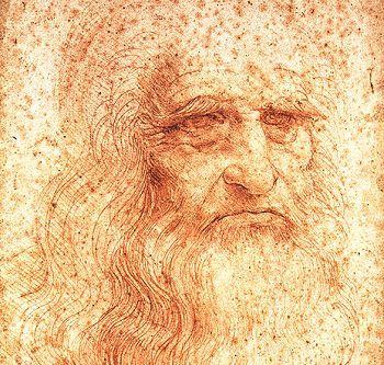 Mysticism within Art following role models from Leonardo da Vinci to Contemporary artists da Vinci self portrait