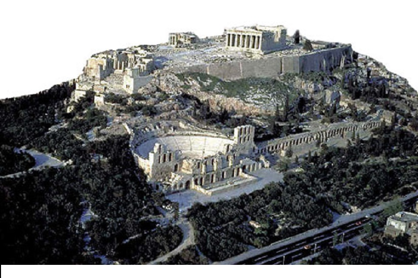 slopes of the Acropolis Greece Mysticism of Ancient Temples 2500 BC