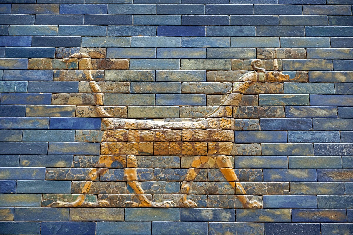 Berlin Pergamon Museum, Ischtar Gate of Babylon Dragon